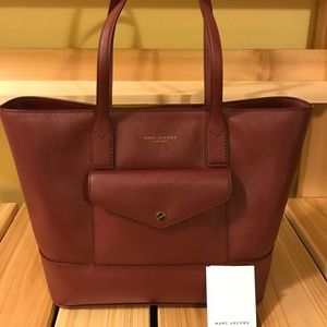 Marc Jacobs Burgundy Tote